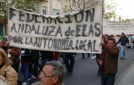 Manifestación para reivindicar la ELA de Ochavillo del Río
